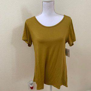 NWTs! Lularoe XS Classic T Gold/Mustard Yellow